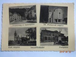 Régi képeslap: Salgótarján, 1939