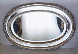 Nagyobb ezüst tál,1041 gramm.Friedmann.