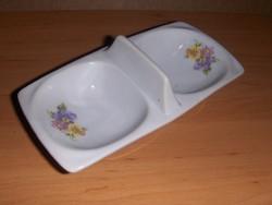 Régi porcelán sótartó borstartó 8*16 cm (22/d)