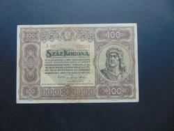100 korona 1920 A 017