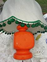 Régi kerámia asztali lámpa hibátlan állapotban 2