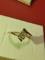 0.21 ct DIAMOND eljegyzési gyűrű eladó !