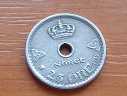 NORVÉGIA 25 ŐRE 1924  #