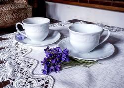 Bavaria 2 személyes elegáns anyagában mintás csésze szett