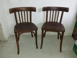 Thonet stílusú fa székek
