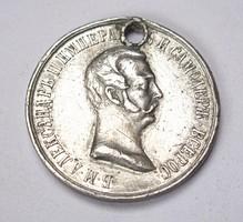 II.Sándor orosz emlékérem 1861.