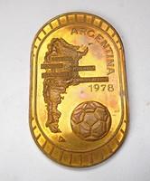 Argentína 1978 futball VB emlékérem
