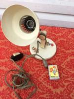 Retro Elektrofém Fém fali - asztali lámpa