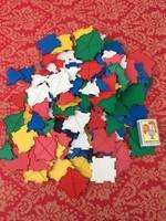 Építő logikai JAVA játék - műanyag retro