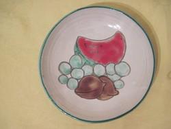 Retro Iparművész kerámia falitányér fali tányér 18,5 cm átmérő