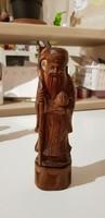 Öreg Szerzetes Szantálfából 18cm.
