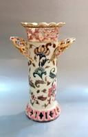 Zsolnay Szárnyas Váza Historizáló Antik