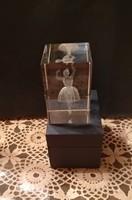 Gyűjteményből lézer gravírozott balerina balett-táncos, ajánljon!