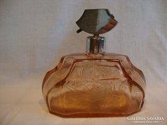 Régi pumpás parfümszóró parfümös üveg