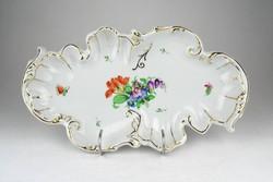 0Y691 Herendi barokkos asztalközép kínáló 32.5 cm