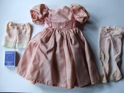 Porcelán baba ruha, porcelánbaba ruha garnitúra rátalálási állapotban