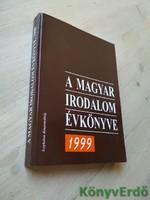 Buda Attila (szerk.): A magyar irodalom évkönyve 1999
