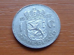 HOLLAND 1 GULDEN 1967 NI.