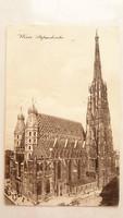 Régi képeslap 1913 bécsi üdvözlőlap Wien