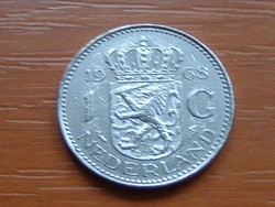 HOLLAND 1 GULDEN 1968 NI.