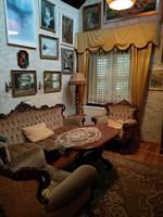 Barokk stílusú faragott ülőgarnitúra