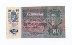 10 Korona 1915 szép ropogós