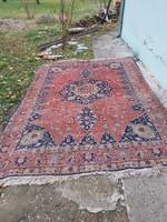 Kézi csomózású szőnyeg. Nagyméretű