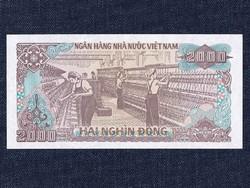 Vietnám 2000 Dong bankjegy 1988 / id 12272/