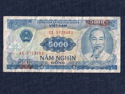 Vietnám 5000 Dong bankjegy 1991 / id 12273/