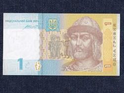 Ukrajna 1 Hrivnya bankjegy 2014 / id 11826/