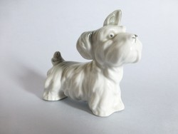 Antik német porcelán kutyus,kutya