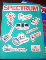Spectrum világ 2.szám 1987 Commodore 16 C64 C16 plus4 atari amiga retro számítógép ujság hőskor