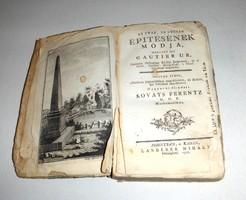 GAUTIER - AZ UTAK ÉS UTSZÁK ÉPÍTÉSÉNEK MÓDJA 1778