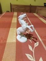 Unterweissbach ágaskodó ló