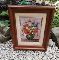 Pipacsos festmény, kép