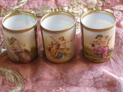 Alt Wien kávés csészék