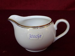 Hertel Jacov Bavaria német porcelán tejkiöntő. Arany szegélyes.