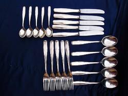 Welner Patent ezüstözött evőeszközök