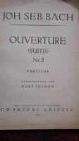Bach, Ouverture Suite No.2 partitura