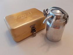 Retro mini kávéfőző Sport Presso utazó csatos dobozban