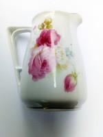 Régi rózsás tejkiöntő