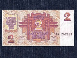 Lettországi 2 rublis / id 5964/