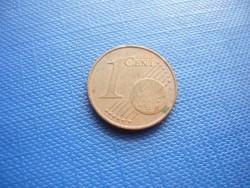 AUSZTRIA OSZTRÁK 1 EURO CENT 2004