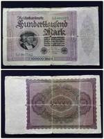 Százezer márka 1923 / id 1840/