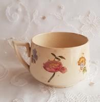 Francia nagyméretű fajansz csésze