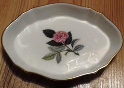 Angol porcelán gyűrűtartó  11.5 x 8 cm