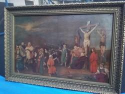 Rudnay Gyula Jézus keresztre feszitése festmény!