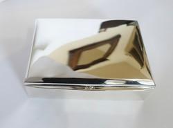Ezüst kártyatartó doboz remek állapotban...