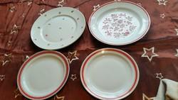 Zsolnay porcelán tányér 4 db eladó!