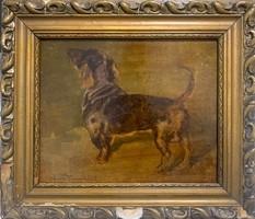 Franz Wiesenthal - Tacskó kutya